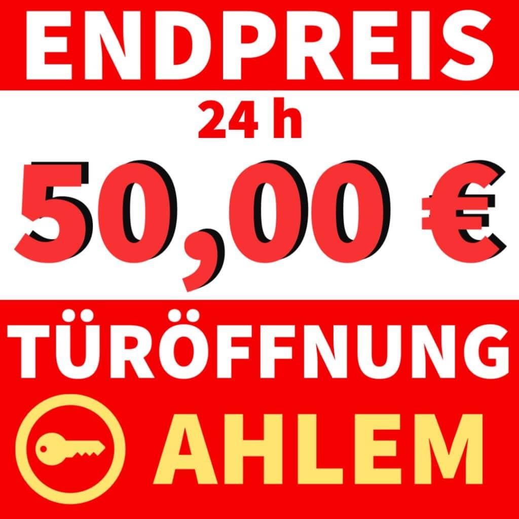 Schlüsseldienst Hannover Ahlem mit Festpreis 50 Euro